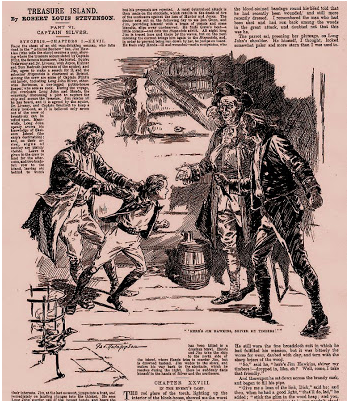 Treasure Island, illustrated by George Wylie Hutchinson (1894)